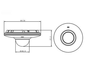 IP-камеры Dahua IPC-HDB4300F-PT