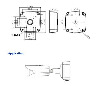 Кронштейны и адаптеры Dahua PFA121