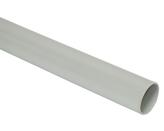 ДКС Труба ПВХ жёсткая гладкая д.50мм, лёгкая, 3м, цвет серый