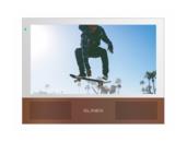Slinex Sonik 7(Белый+сменные панели)