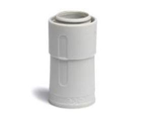 ДКС Переходник армированная труба-жесткая труба, IP67, д.20мм