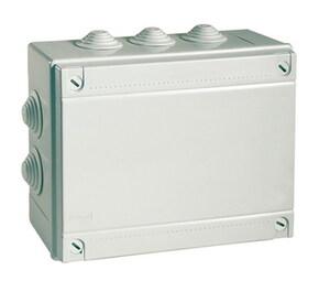 ДКС Коробка ответвит. с кабельными вводами, IP55, 150х110х70мм